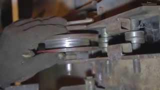 getlinkyoutube.com-Как сделать простой ТРУБОГИБ своими руками в гараже. Чертеж в конце. How to make a bender