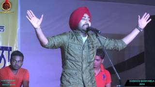RANJIT BAWA | DOLLAR V/S ROTI  | MELA HASHAM SHAH AMRITSAR | LIVE PERFORMANCE 2015 |  FULL VIDEO HD