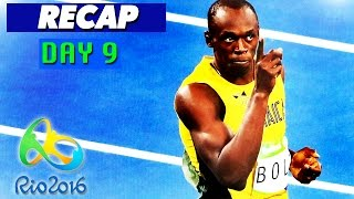 Rio Olympics 2016 Results, Highlights, Usain Bolt (Day 9 Recap - August 14, 2016)