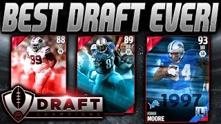 getlinkyoutube.com-BEST WR DRAFT EVER! | MOORE AND CALVIN! | MADDEN 16 DRAFT CHAMPIONS