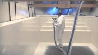 getlinkyoutube.com-GreenTech Polyurea Hotspraypainting