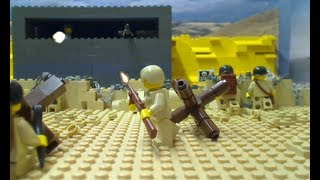 getlinkyoutube.com-LEGO: D-Day: The Fight For Omaha Beach