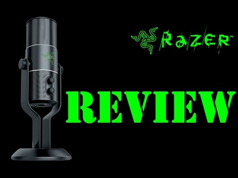 Review - Microphone Razer Seiren