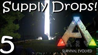 getlinkyoutube.com-ARK Survival Evolved - ALIEN SUPPLY DROP  - Ep 5 Gameplay/ Walkthrough