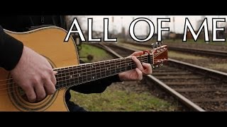 John Legend - All Of Me (fingerstyle guitar cover by Peter Gergely) [WITH TABS]