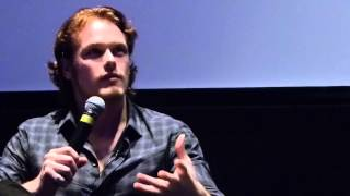 getlinkyoutube.com-Sam Heughan during the Q&A at the Emulsion Premiere