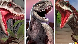 getlinkyoutube.com-Hybrid Indominus Rex Live Arena Challenge Victory - Jurassic World The Game!