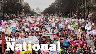 getlinkyoutube.com-Hundreds of thousands turn out for Women's March on Washington