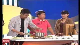 getlinkyoutube.com-ครัวคุณต๋อย 27  ม.ค. 57 (2/2) ขนมจีนน้ำยาปลาช่อน ร้านขนมจีนบ้านผู้การ