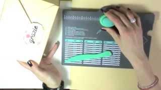 getlinkyoutube.com-Scrap tutorial:Scatola 3d di grandi dimensioni con envelope punch board - Packaging tutorial
