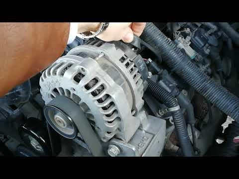 Вой генератора Chevrolet Tahoe
