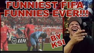 """getlinkyoutube.com-ReView/ReAction to """"FUNNIEST FIFA FUNNIES EVER!!!"""" By KSI"""