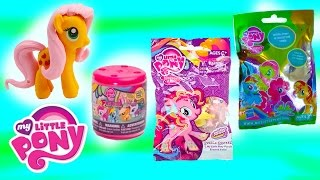 getlinkyoutube.com-MLP Fashems Mystery Surprise Blind Bag Puzzle Eraseez My Little Pony Toys Unboxing Review