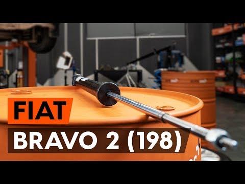 Как заменить амортизаторы задней подвески на FIAT BRAVO 2 (198) (ВИДЕОУРОК AUTODOC)