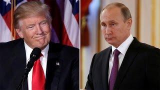 Vladímir Putin mantiene una conversación telefónica con Donald Trump