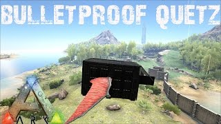 getlinkyoutube.com-ARK Survival Evolved - Building the Bulletproof Quetzal