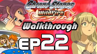 Inazuma Eleven GO Chrono Stones Wildfire Walkthrough Episode 22 - Vive La France (Chapter 5)