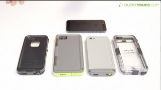 getlinkyoutube.com-Top 4 Best Waterproof iPhone 5 & iPhone 5S Cases - Lifeproof, Otterbox, Incipio, Griffin