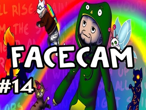 Techno Kitten Adventure FACECAM: Indie Game w/Nova #14 - THE MEAT RETURNS