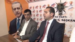 Ak Parti Erzincan İl Başkanı Burhan Çakır Basın Açıklaması