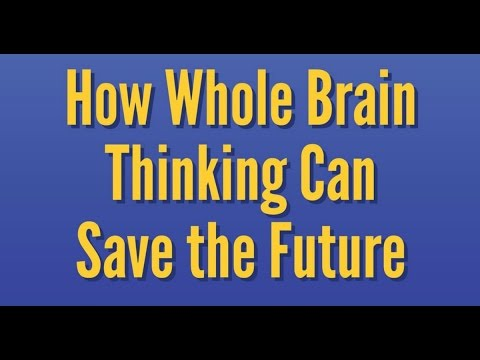How Whole Brain Thinking Can Save the Future - James Olson on TJBS