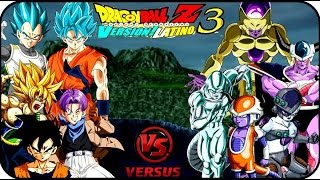 getlinkyoutube.com-DRAGON BALL Z BUDOKAI TENKAICHI 3 LATINO GOKU Y VEGETA FNF CON GOLDEN FREEZER