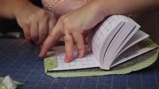 getlinkyoutube.com-Video Aula - TECIDO - Forrar agenda com tecido