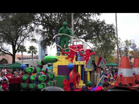 Block Party Bash street party parade at Disney's Hollywood Studios