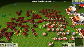 getlinkyoutube.com-Army Men RTS multiplayer bots 1v7 Ultimate Rush part 3