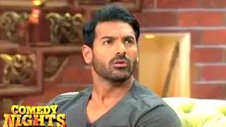 getlinkyoutube.com-John Abraham Gets ANGRY On Krushna & Leaves Comedy Nights Bachao Taaza In Middle Of Shoot!