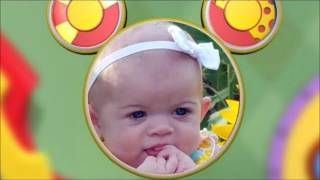 getlinkyoutube.com-Mickey Mouse greets LYLA on her 1st birthday