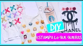 getlinkyoutube.com-DIY estampa lo que quieras