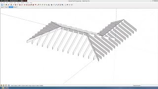 getlinkyoutube.com-Simple Roof Design in Sketchup