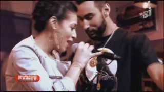 getlinkyoutube.com-La Fouine feat. Zaho Ma meilleure (live) [INEDIT]