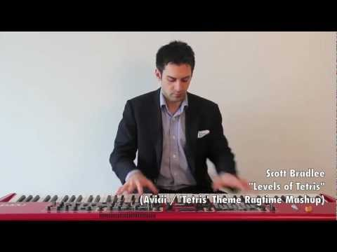 """Levels of Tetris"" (Avicii / 'Tetris' Theme Song Ragtime Mashup)"