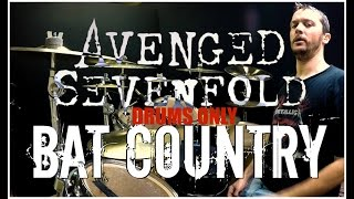 getlinkyoutube.com-AVENGED SEVENFOLD - Bat Country - Drums Only