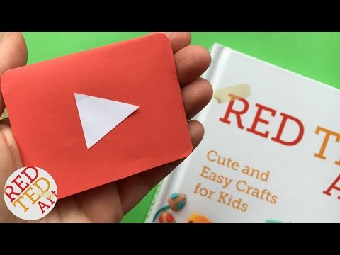 Easy YouTube Bookmark DIY - Quick & Easy Corner Bookmark Design - Paper Crafts