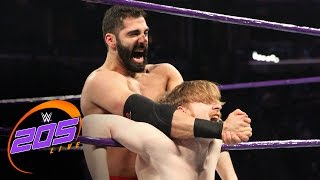 "getlinkyoutube.com-Jack Gallagher vs. Ariya Daivari - ""I Forfeit"" Match: WWE 205 Live, Jan. 17, 2017"