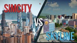 getlinkyoutube.com-Cities Skyline vs. Simcity 2013: An Honest Comparison