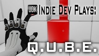getlinkyoutube.com-[UDK] Indie Dev Plays: Q.U.B.E.