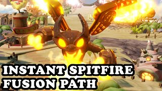 Skylanders Superchargers - Instant Spitfire - Fusion Path - GAMEPLAY