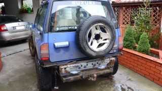 getlinkyoutube.com-Renowacja Suzuki Vitara 4x4 Off Road