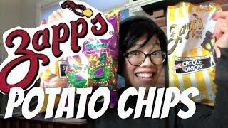getlinkyoutube.com-ZAPP'S Potato Chip MARDI GRAS Taste Test