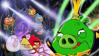 getlinkyoutube.com-Angry Birds Epic: HalloWeen Final King Pig Boss  - Mother Golden Pig