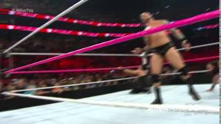 getlinkyoutube.com-Randy Orton RKO on Luke Harper - Raw - October 5, 2015