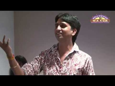 Kumar Vishwas At Press Conference Of Movie