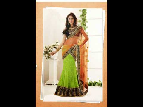 Indian Wedding Sarees, Lehenga Sarees by Aishwarya Design Studio
