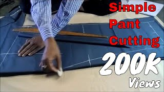 Simple Pant Cutting