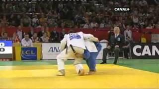 getlinkyoutube.com-JUDO 2008 Tournois de Paris: Masato Uchishiba 内柴 正人 (JPN) - Alim Gadanov (RUS)