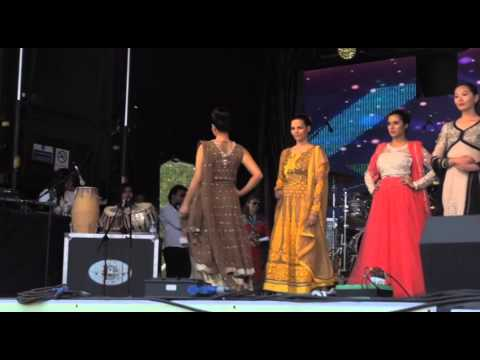 khwaab London Presents fashon show Nazakat By Mehak